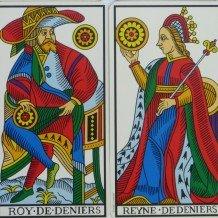 Les couples du bonheur dans le Tarot