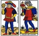 Où va la famille des 4 Valets du Tarot ?