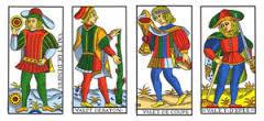 Les fabuleux trésors des 56 Mineures du Tarot de Marseille