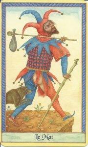 Une histoire de renaissance d'un personnage du Tarot