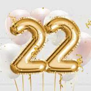 La puissance du nombre 22